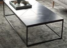 Granite coffee table from West Elm