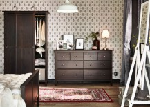 HEMNES drawer and wardrobe bring a ouch of tradition to the modern bedroom