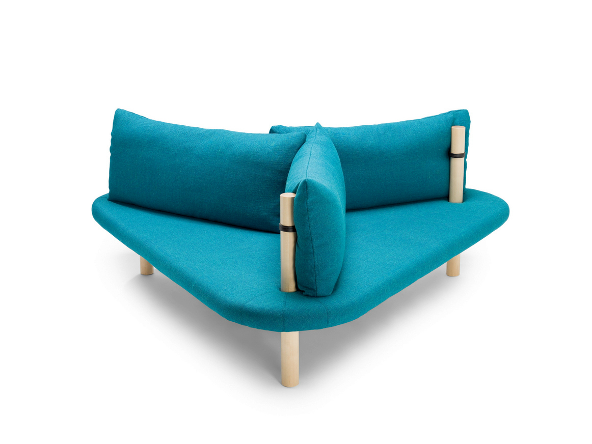 Holmen triangle shaped sofa