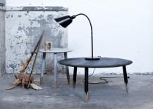 Hoog Table in black stained oak