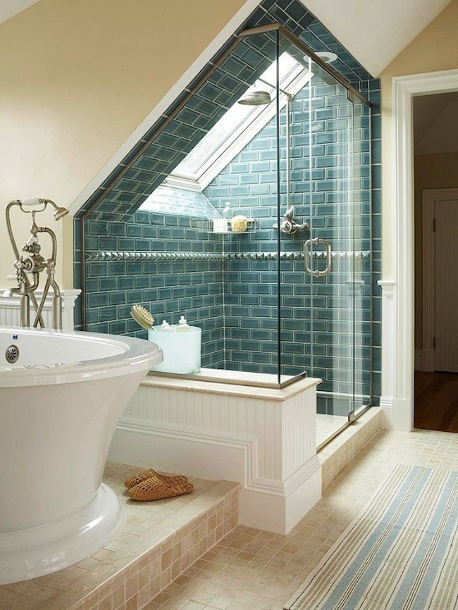 48 Attics Turned Into Breathtaking Bathrooms Amazing Attic Bathroom Designs