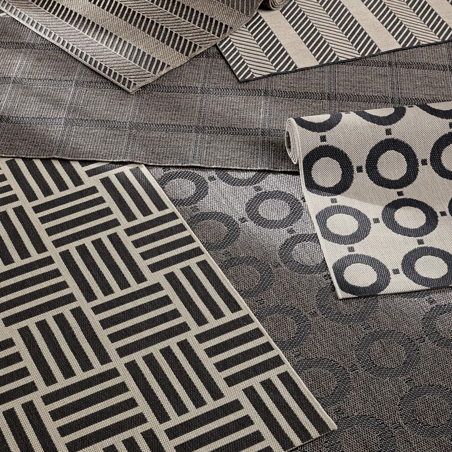 Indoor-outdoor rugs from Crate & Barrel