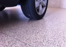 Industrial-grade epoxy flooring