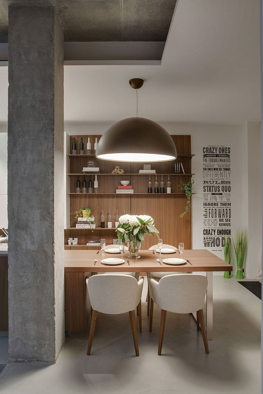 Industrial style pendant lighting for kitchen and dining