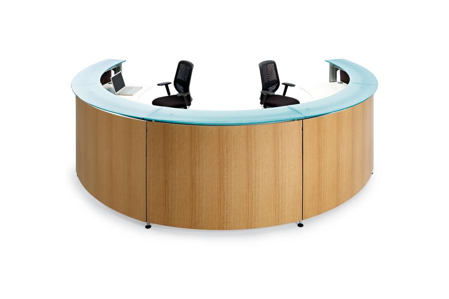 Informa with wood panel
