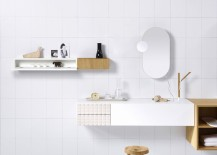 Ingrid Modular Bathroom Range white backdrop