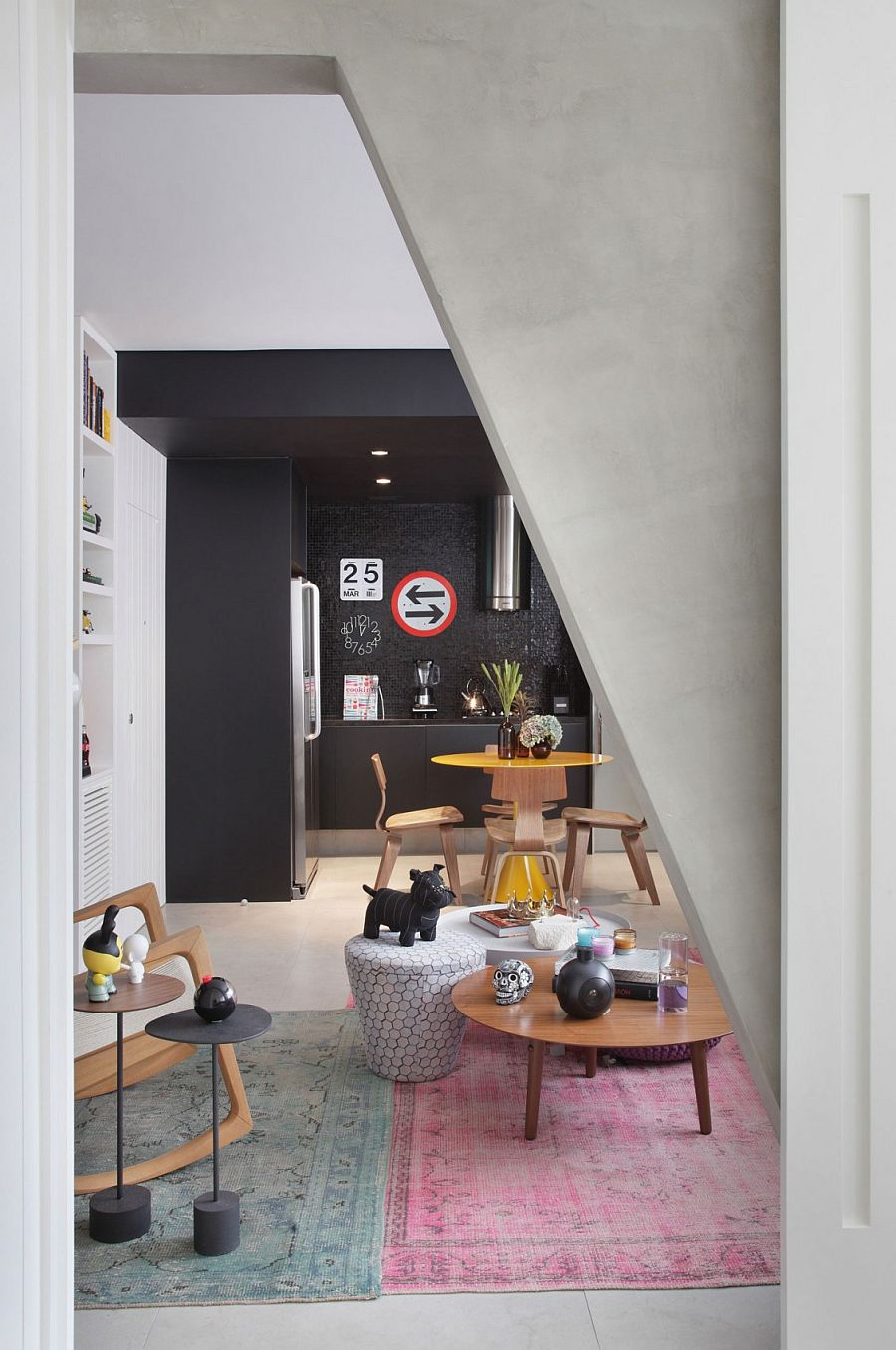 Interesting and playful decor choices shape the VF House