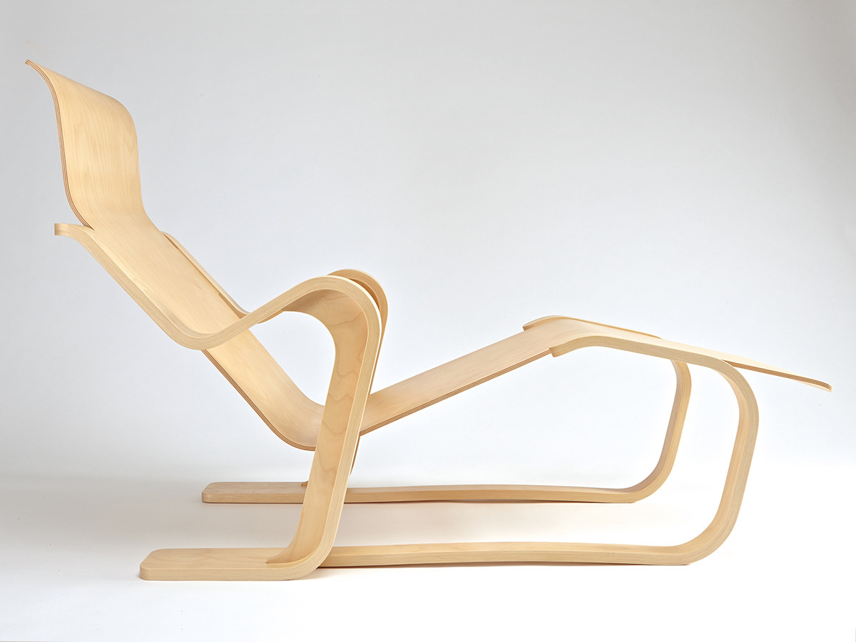 Isokon Long Chair with no seat pad