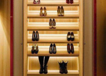 LED Under Cabinet Shoe Rack Lighting
