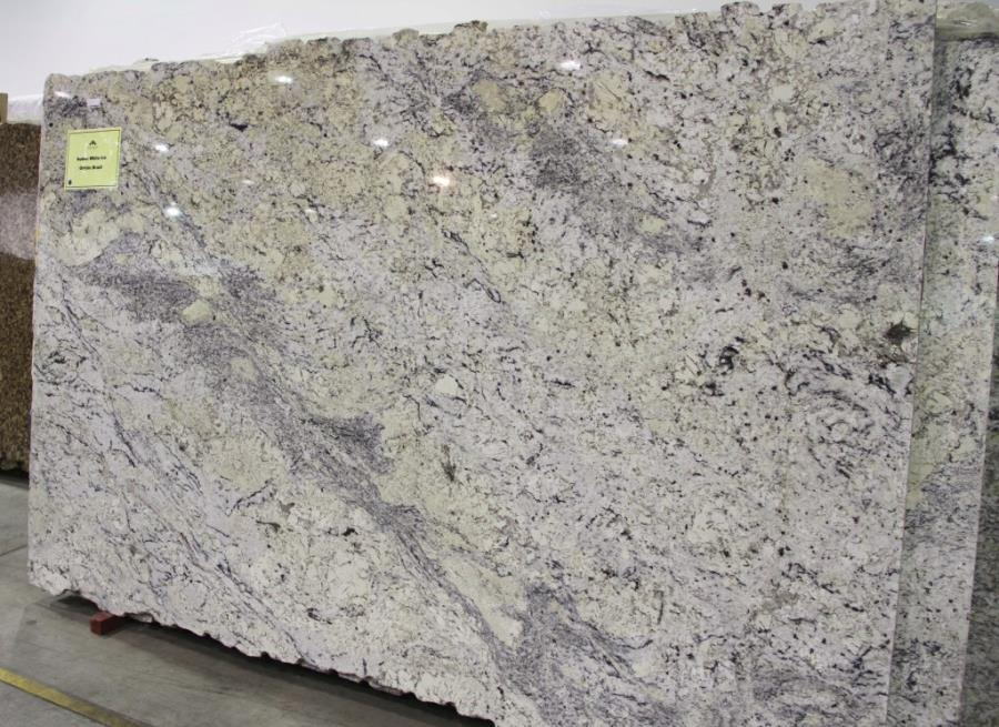 The Beauty Of White Ice Granite - Granite for gray cabinets
