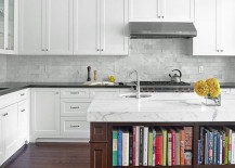 Library-style-bookshelves-built-into-kitchen-island-217x155
