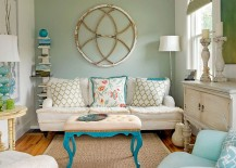 Love-the-pops-of-aqua-in-this-eclectic-space-with-coastal-vibe-217x155