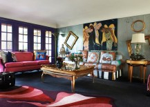 Love-the-use-of-empty-god-frames-in-this-eclectic-LA-living-space-217x155