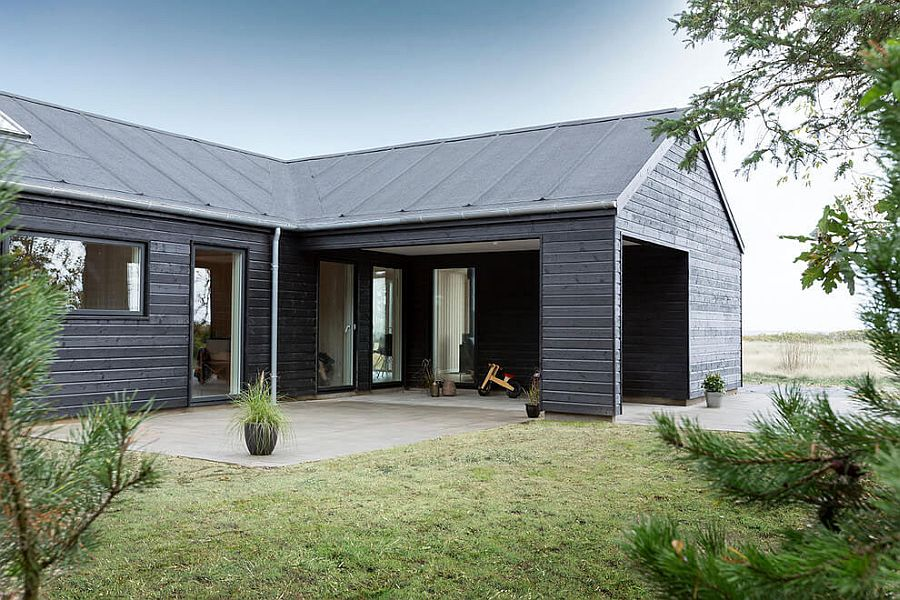 pinterest garage conversion ideas - Exquisite Summer House with Danish Design by Skanlux