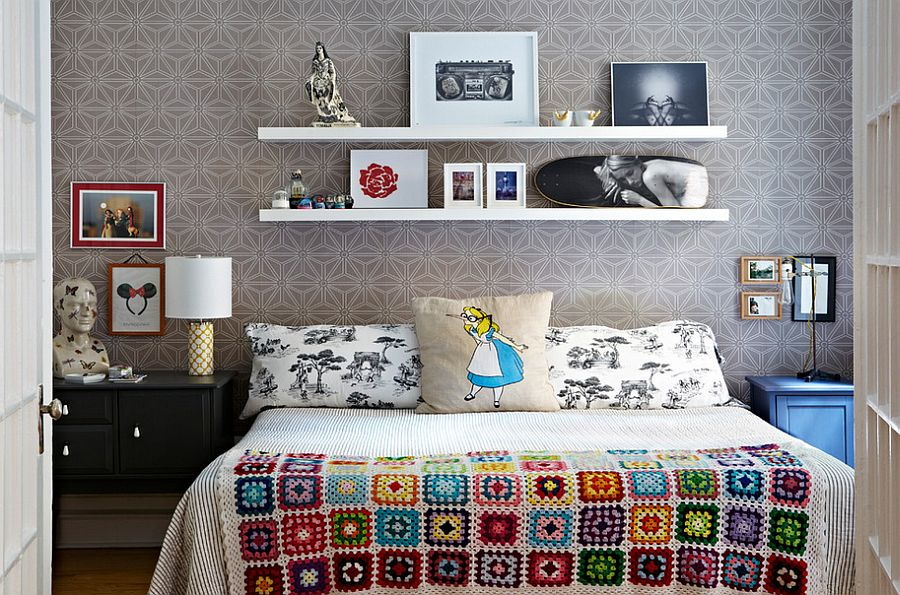 Small Bed Side Table 30 bedrooms that wow with mismatched nightstands
