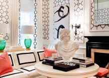 Lovely-use-of-geometric-pattern-in-the-living-room-217x155