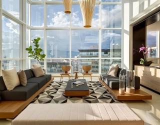 Penthouse MK: Lavish Hub Showcases Sparkling Views of Mexico City