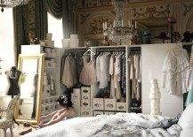 Luxurious bedroom with ample storage brings a touch of fairytale fanatasy to the real world