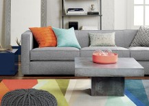 Marble, granite and stone coffee table from CB2