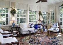 Metallic-coffee-table-brings-cheerful-charm-to-the-breezy-sunroom-217x155