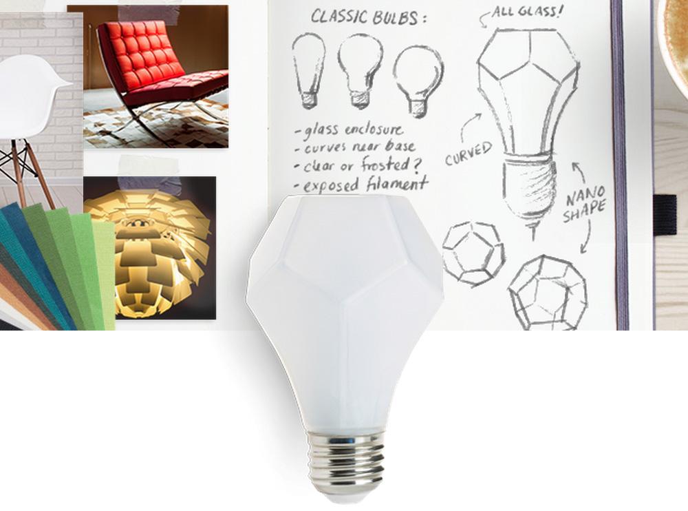 Nanoleaf Gem Prism Light Bulb