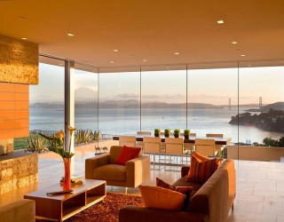 Garay Residence: Magnificent Portal Leads to Dreamy Views of Golden Gate Bridge