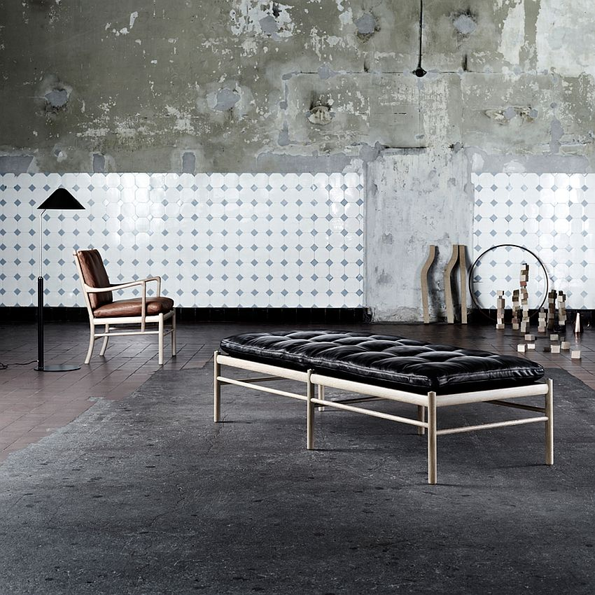 OW150 daybed designed by Ole Wanscher for a quick nap