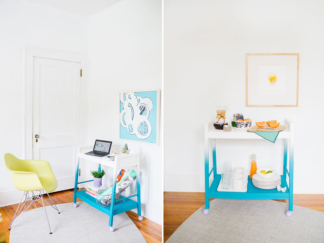 Ombre cart from Paper & Stitch