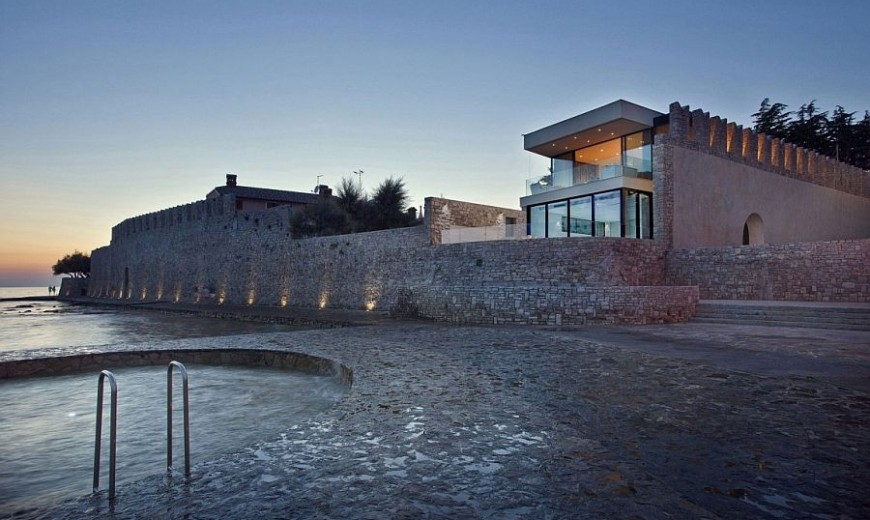 Seaside Holiday Home Cloaks World Class Comfort in Medieval Stone Walls