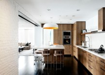 Painted-brick-wall-in-a-modern-kitchen-217x155