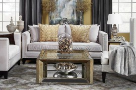 Pascual Coffee Table from Z Gallerie  50 Fabulous Coffee Tables that Usher in a Golden Glint Pascual Coffee Table from Z Gallerie 270x180