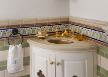 Perfect sink and vanity for the Spanish Colonial setting