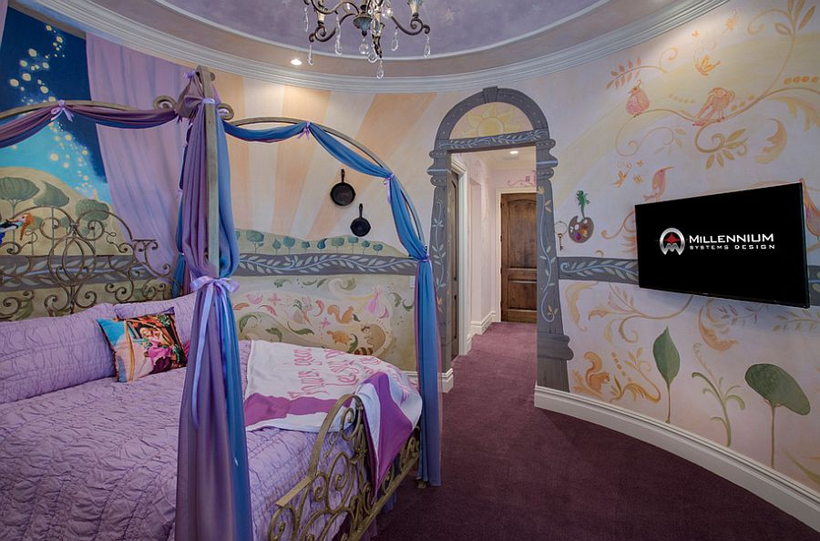 Gorgeous Tangled Themed Guest Rooms At Tokyo Disneyland: 25 Disney-Inspired Rooms That Celebrate Color And Creativity