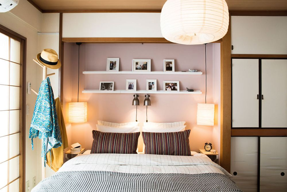 View In Gallery Picture Ledge And Smart Lighting For The Small Bedroom