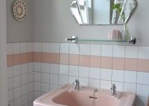 Pink-pedestal-sink-in-retro-bathroom-217x155