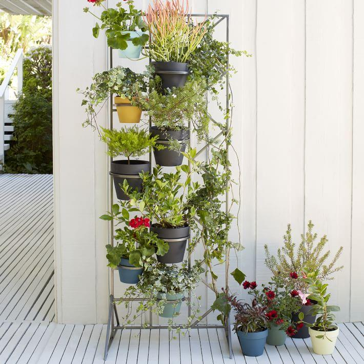 Plant stand style with a modern twist for Diy wall plant holder