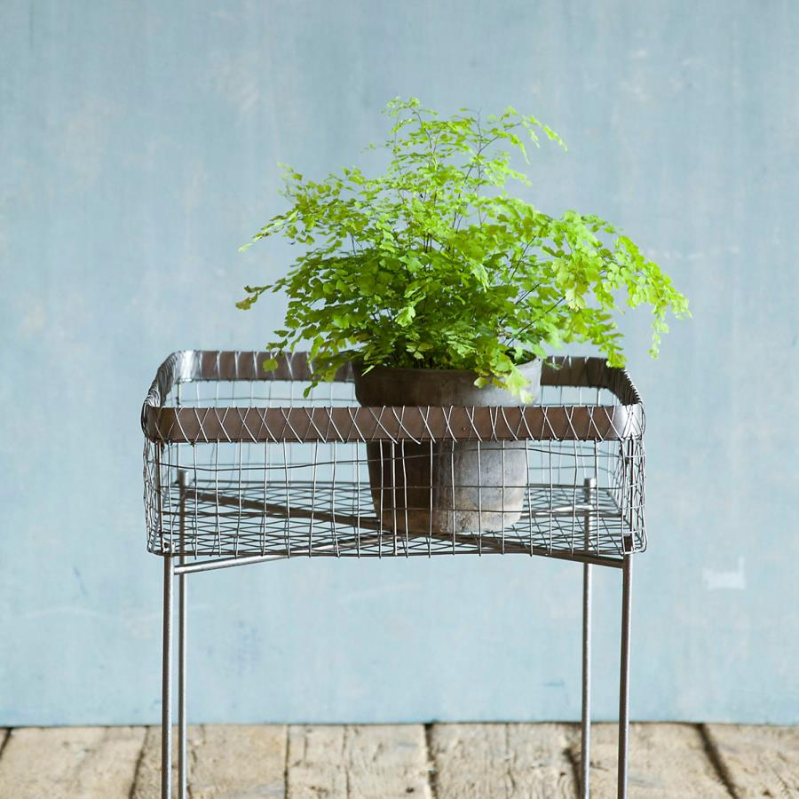 Plant stand side table from Terrain