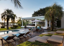 Dream Hangout: Contemporary Pool House in Porto Alegre Unveils Lakeside Paradise!