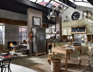 Nolita: Rediscover the Pleasure of a Timeless Vintage Family Kitchen