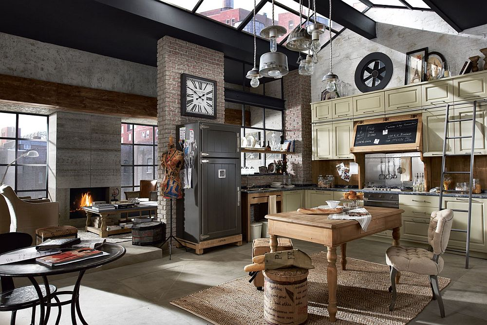Rediscover the pleaseure of true vintage family kitchen with custom crafted Nolita Nolita: Rediscover the Pleasure of a Timeless Vintage Family Kitchen