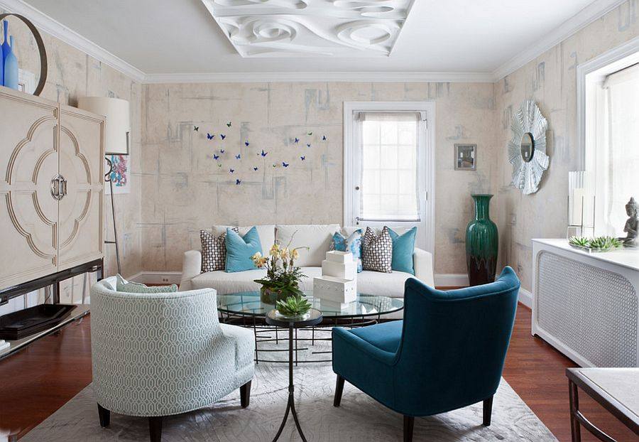 50 eclectic living rooms for a delightfully creative home for Modern eclectic interiors