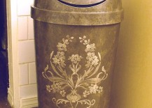 Regular-trash-can-with-stenciled-designs-217x155