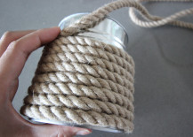 Rope Wrapped Vases DIY Almost Fully Wrapped 217x155 How to Make DIY Rope Wrapped Vases with Nautical Flair