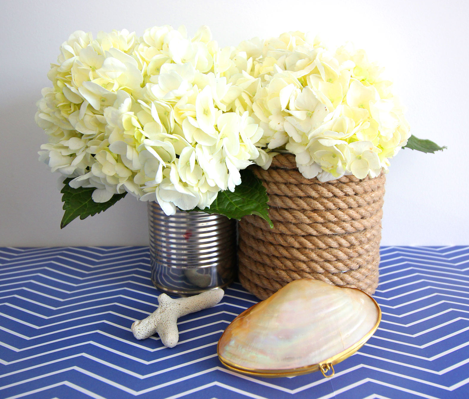 How to make diy rope wrapped vases with nautical flair view in gallery rope wrapped vases diy nautical reviewsmspy