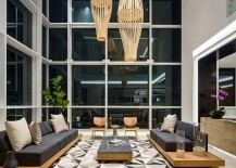 Rug-adds-geometric-pattern-to-the-stylish-living-space-217x155