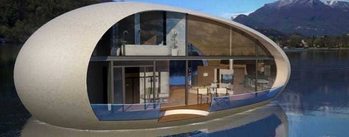 Sea Suite Egg-Shaped Floating Home