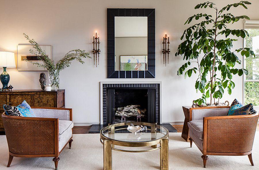 Shabby chic living room of San Francisco home [Design: Cheryl Burke Interior Design]
