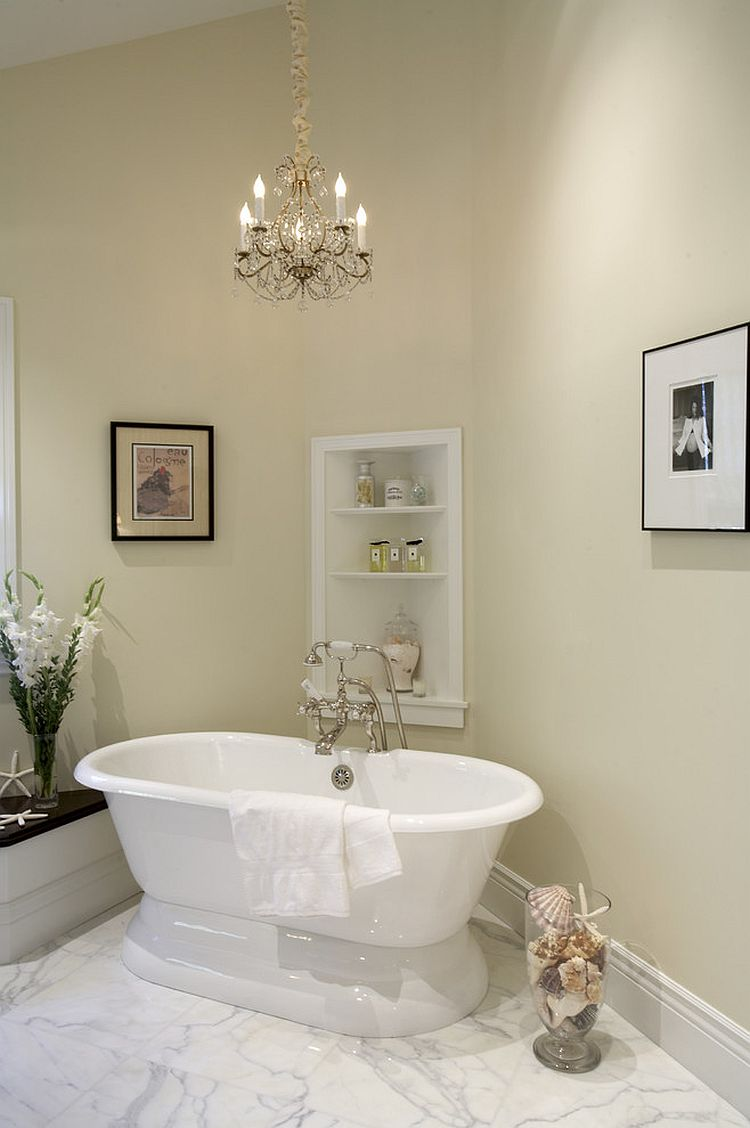 ... Simple And Unassuming Way To Transform The Bathroom Corner [Design:  Mahoney Architects U0026 Interiors