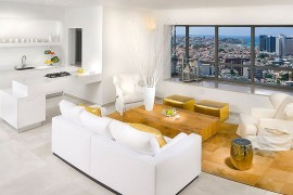 Sizzling living room in white and gold  50 Fabulous Coffee Tables that Usher in a Golden Glint Sizzling living room in white and gold 270x180