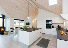 Skylights usher in ample natural light
